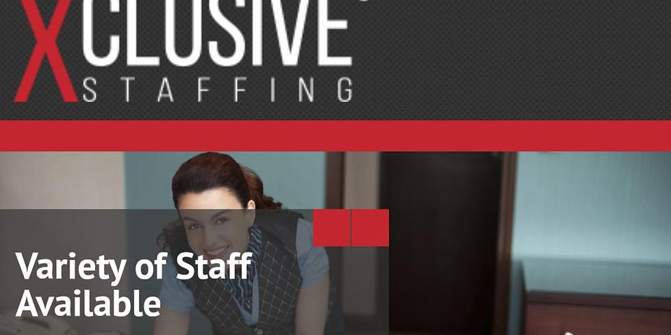 Charlotte, NC Xclusive Staffing esta contratando asistentes de limpieza