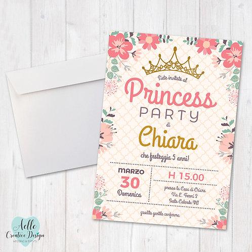 """Invito """"Princess Party"""""""