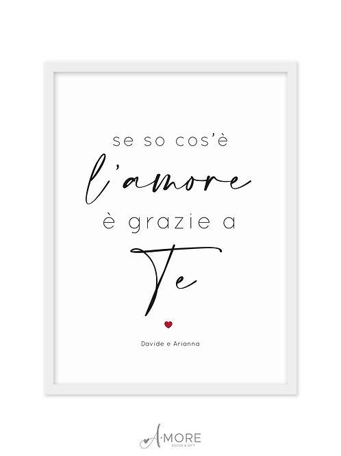 """Quadretto """"L'Amore"""""""