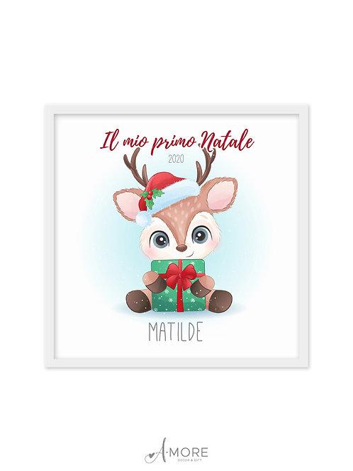 """Quadretto """"Il mio Primo Natale"""""""