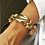 Thumbnail: SEA STONES AND GOLD SHELL BRACELET