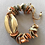 Thumbnail: SEA STONES AND GOLD SHELL BRACELET