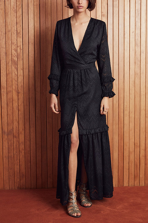 DRESS SOLISTE BLACK