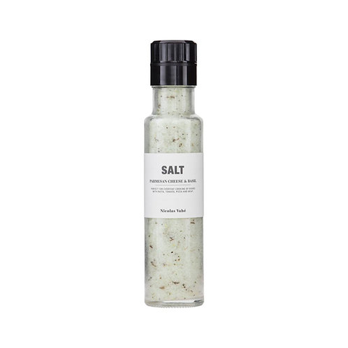 SALT WITH PARMESAN CHEESE AND BASIL