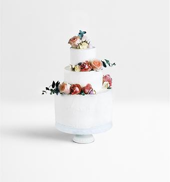Gâteau décoré en couches