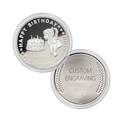 Customised Silver Coins