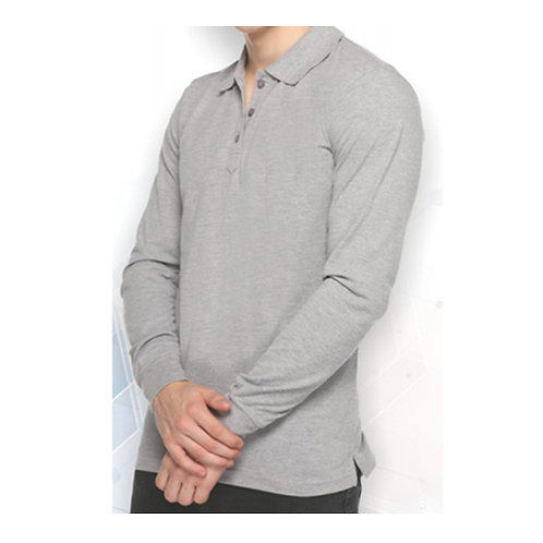 FAS-TEES Full Sleeves Polo Neck T-Shirt