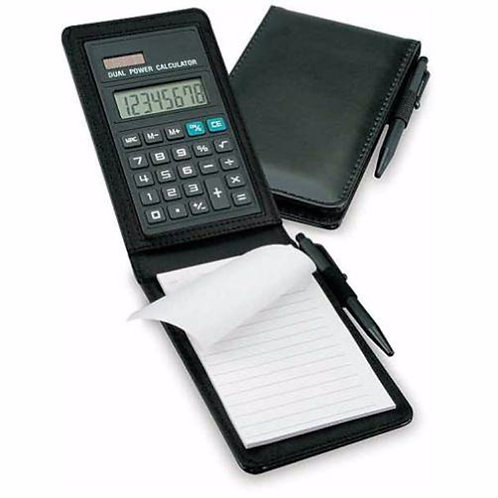 Notepad With Calculator