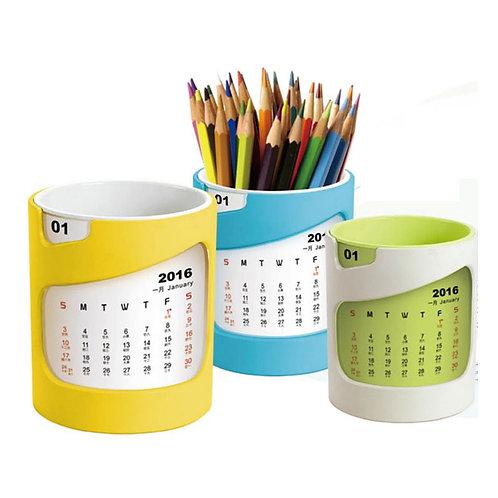 Calendar with Pen Holder