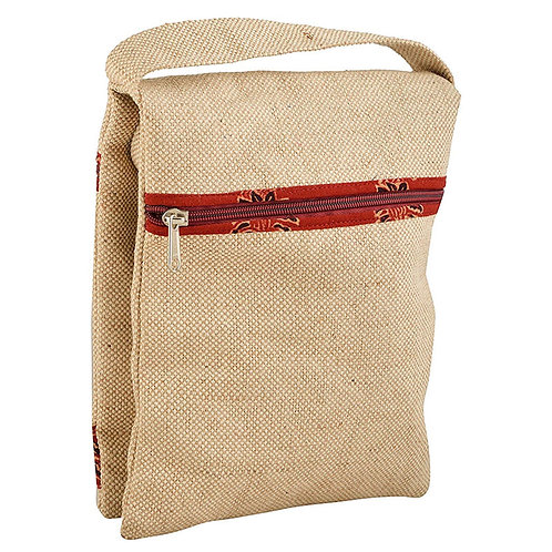 Fancy Jute Sling Bag