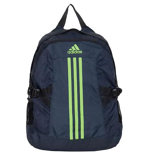 Adidas Blue Waterproof Polyester Backpack