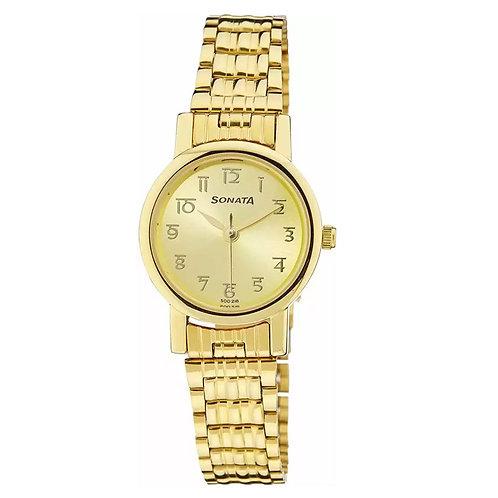 Sonata NF8976YM06CJ Analog Watch for Women