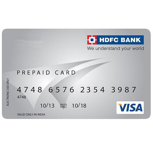 HDFC Bank Cash Card