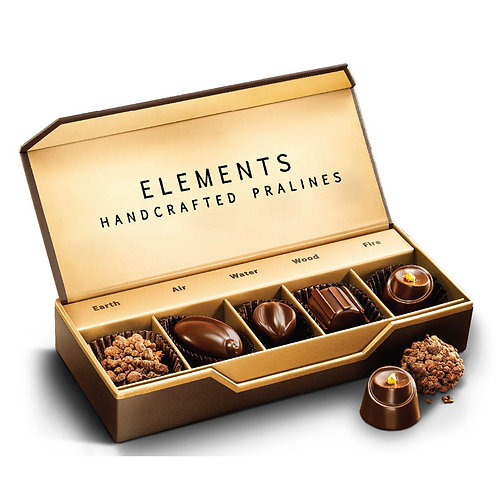 Elements - Pack Of 5 Pralines