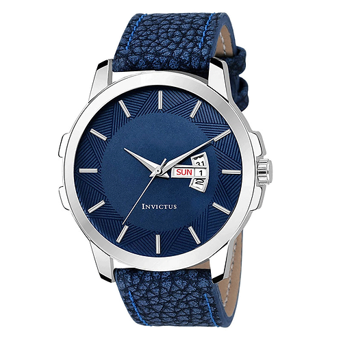 Analog Blue Dial Men's Watch - 3