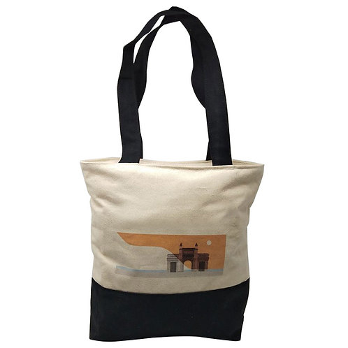 Canvas Tote Bag with Zipper
