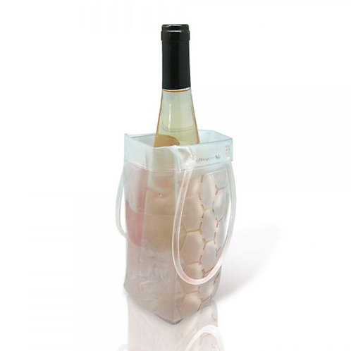 Transparent Cooler Bucket Bag With Handle