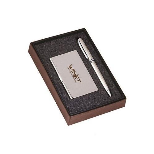 Pen & Visiting Card Holder set