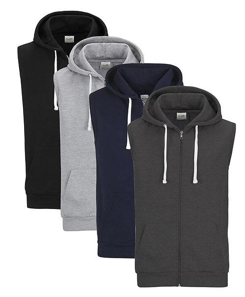 Sleeveless Hooded Sweatshirts