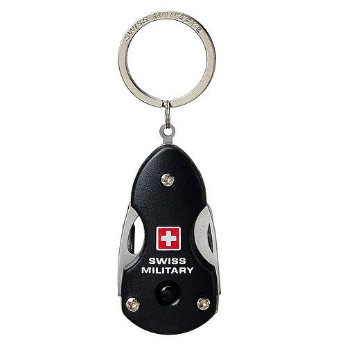 Swiss Military Black Keychain - 2
