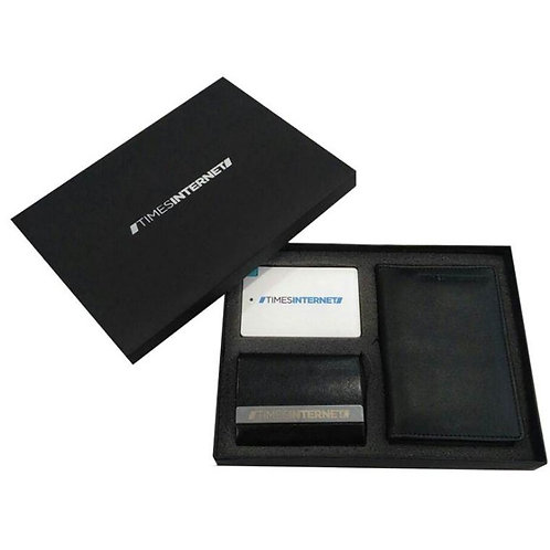 Power Bank with Card Holder and Passport Holder