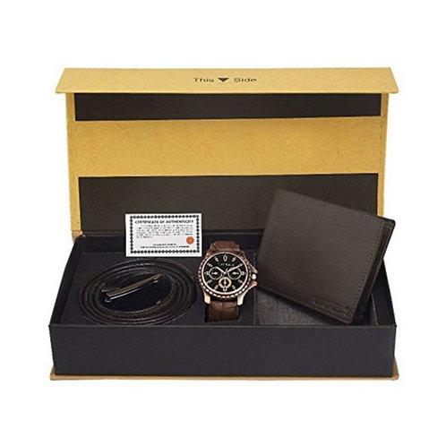 Belt, Watch & Wallet Set