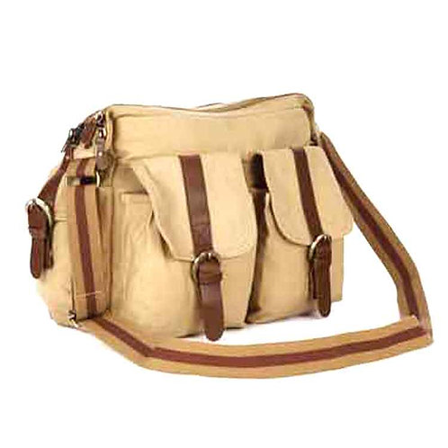 Canvas Laptop Sling Bag