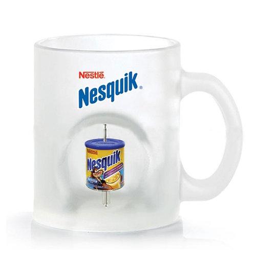 Frosted Spinning Mug