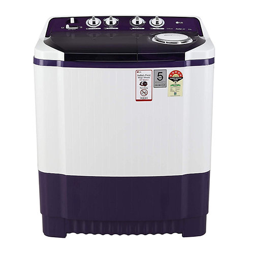 LG 8Kg Semi-Automatic Top Loading Washing Machine - P8035SPMZ