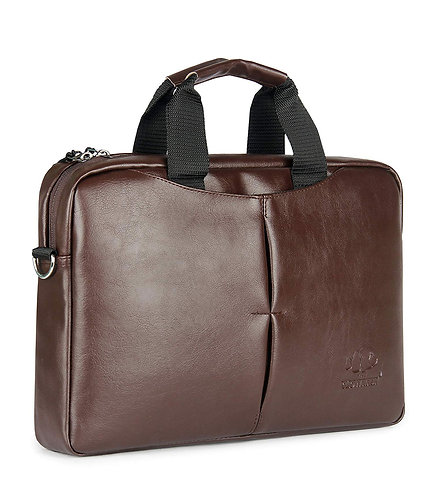 Leatherette Laptop Bag Briefcase