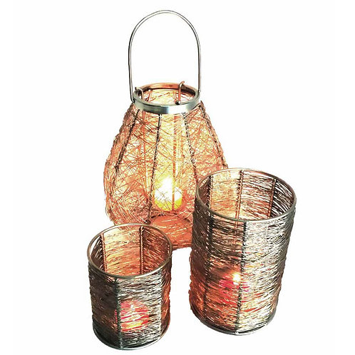 T Light Table Top Lantern