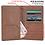Thumbnail: Aristocrat RFID Blocking Brown Passport Holder