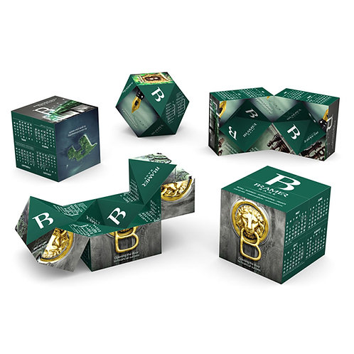 Diamond Magic Cube Calendar (7cm)