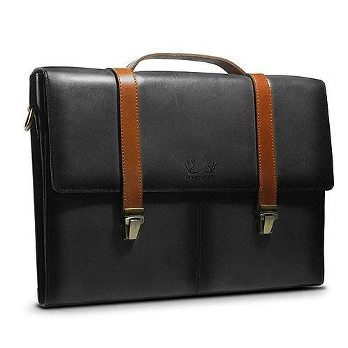 Havana Briefcase (Charcoal)