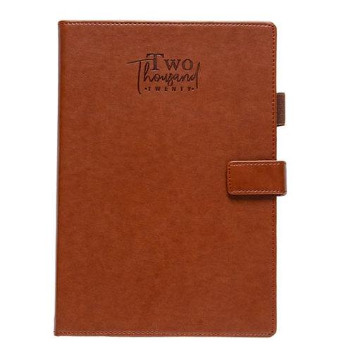 Tan B5 Magnet Diary
