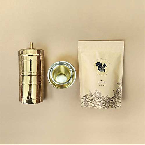 The Flying Squirrel - South Indian Filter Coffee Kit