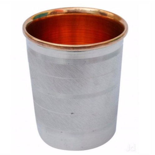 SS Copper 300ml Glass