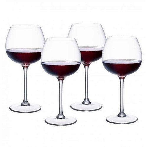 Red Wine Goblets Set of 4