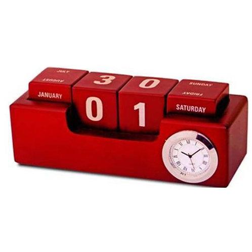 Wooden Rotational Calendar