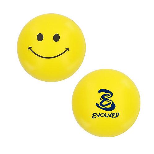 Yellow Smiley Stress Ball