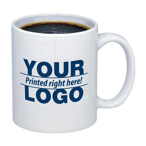 Promotional White Ceramic Mug