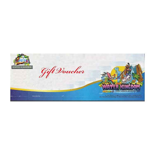 Water Kingdom Gift Voucher RS 500