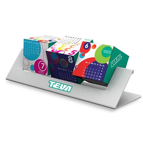 Spinning Desktop Calendar - Suspension