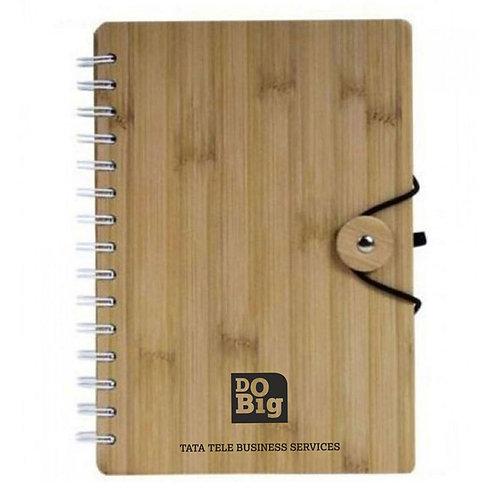 Bamboo Spiral Diary