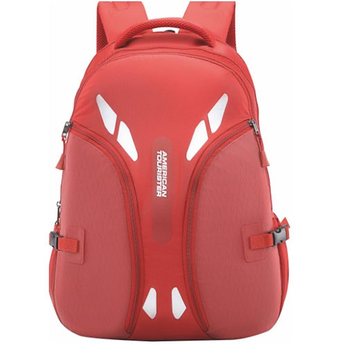 American Tourister Twill Backpack (Red)