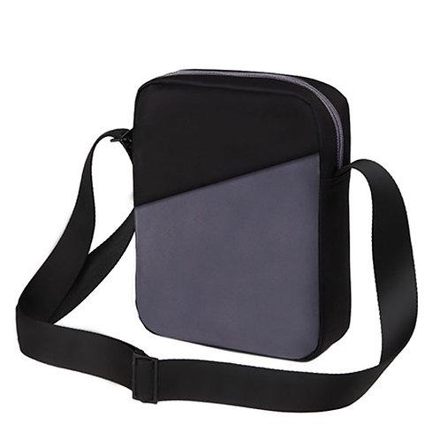 Grey & Black Sling Bag