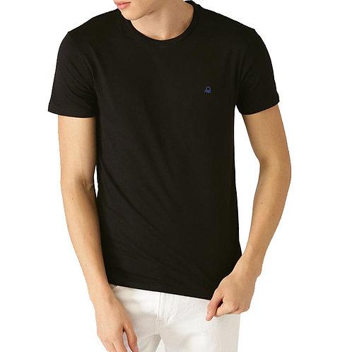 UCB Black Round Neck T-shirt