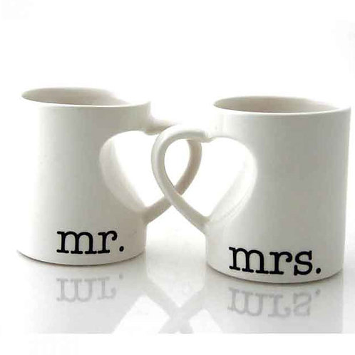 Mr & Mrs Couple Mug