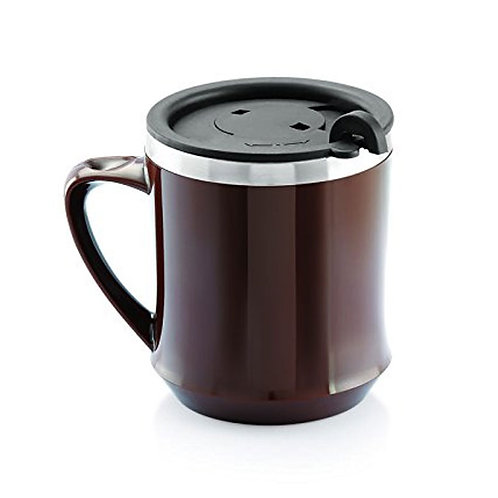 Brown Plastic Mug