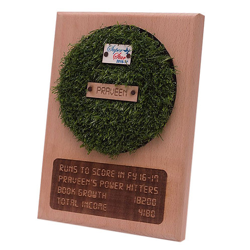 Cricket Themed Plaque